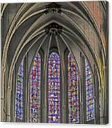 Medieval Stained Glass Canvas Print