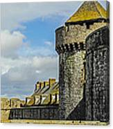 Medieval Towers Canvas Print