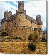 Medievel Castle Canvas Print