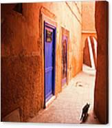 Medina Of Marrakesh Canvas Print