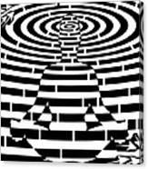 Meditation Maze  Canvas Print