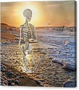 Meditative Morning Canvas Print