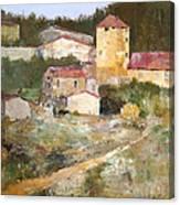 Mediterranean Farm Canvas Print