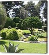 Mediterranean Garden - Cote D Azur Canvas Print