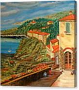 Mediterrean Coast Canvas Print