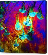 Medusas On Fire 5d24939 Canvas Print