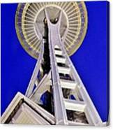 Meet Me At The Needle Canvas Print