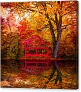 Meet Me At The Pond Canvas Print