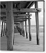 Meet Me Under The Pier. Canvas Print