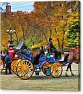 Meeting Of The Carriages Canvas Print
