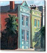 Meeting Street Charleston South Carolina Canvas Print