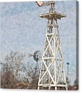 Megan's Windmill Canvas Print