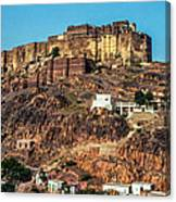 Mehrangarh Fort Canvas Print