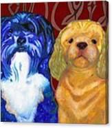 Mei-mei And Honeybear Canvas Print