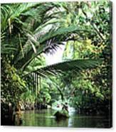 Mekong Delta Backwater 01 Canvas Print