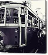Old Tram In Melbourne Canvas Print