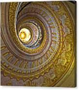 Melk Abbey Spiral Staircase Canvas Print