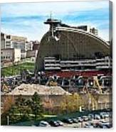 Mellon Arena Partially Deconstructed Canvas Print