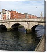 Mellows Bridge In Dublin Canvas Print