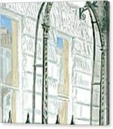 Mellvile Street Doorway Canvas Print