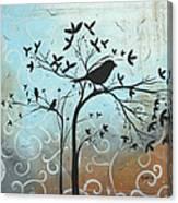 Melodic Dreams By Madart Canvas Print