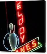 Melody Lanes Canvas Print