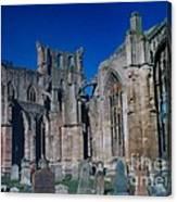 Melrose Abbey  Scotland Canvas Print