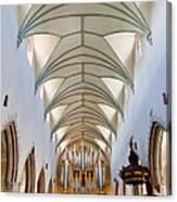 Memmingen Pipe Organ Canvas Print
