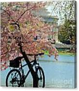 Memorial Bicycle Canvas Print
