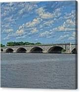 Memorial Bridge After The Storm Canvas Print
