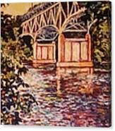 Memorial Bridge Canvas Print