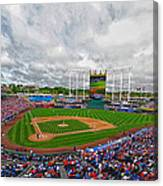 Memorial Day At The K Canvas Print
