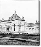 Memorial Hall Centennial International Exposition 1877 Canvas Print