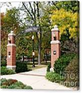Memorial Park Autumn Canvas Print