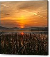 Memories Of A Sunset Canvas Print
