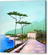 Memories  Of Lake Como Canvas Print