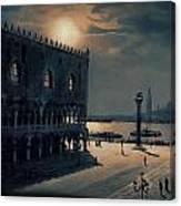 Memories Of Venice No 2 Canvas Print