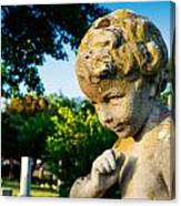 Memphis Elmwood Cemetery - Boy Angel Canvas Print