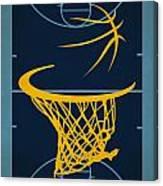 Memphis Grizzlies Court Canvas Print