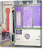Memphis Trolley Canvas Print