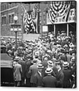 Men At 1912 Republican National Convention Canvas Print