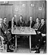 Men At A Business Meeting Canvas Print