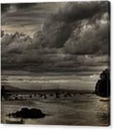 Menacing Clouds Canvas Print