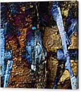 Menacing Teeth - Snow Thrower - Abstract Canvas Print