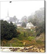Mendocino Ca Church Canvas Print