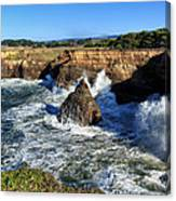 Mendocino Coast Canvas Print