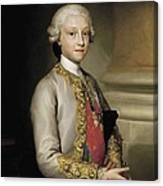 Mengs, Anton Raphael 1728-1779. Infante Canvas Print