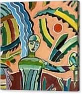 Menino Na Amazonia I Canvas Print
