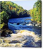 Menominee River At Piers Gorge, Upper Canvas Print