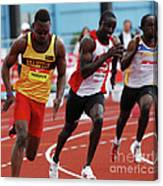 Mens 200 Meter Canvas Print